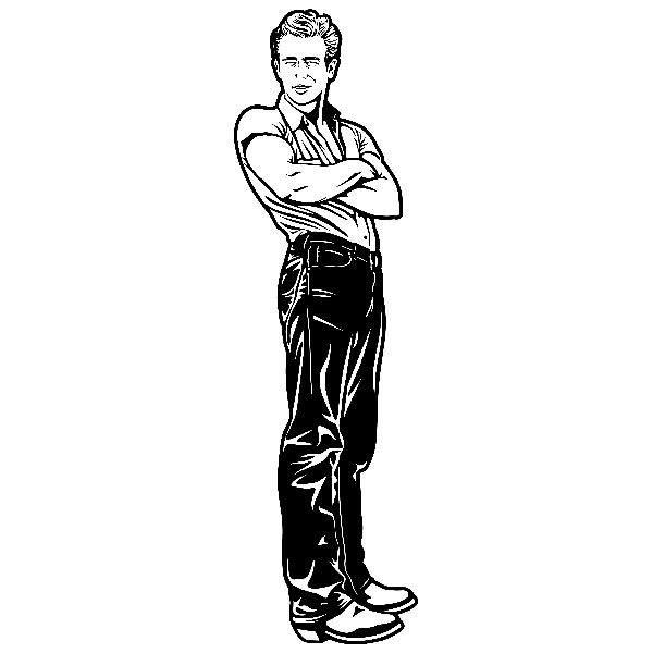 Wandtattoos: James Dean - Giganten