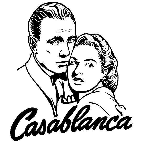 Wandtattoos: Casablanca