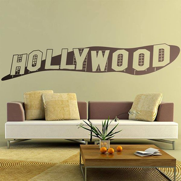 Wandtattoos: Hollywood-Zeichen