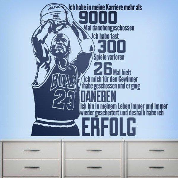 Wandtattoos: Der Erfolg von Michael Jordan