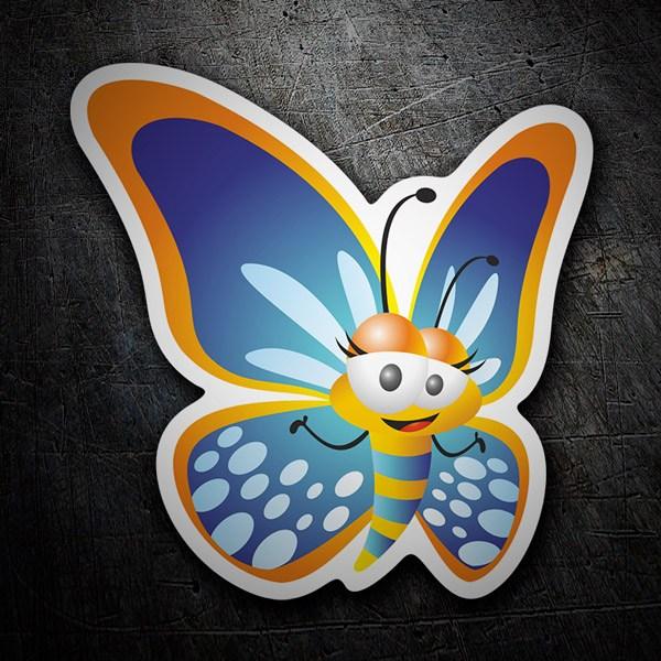 Aufkleber: Butterfly 1