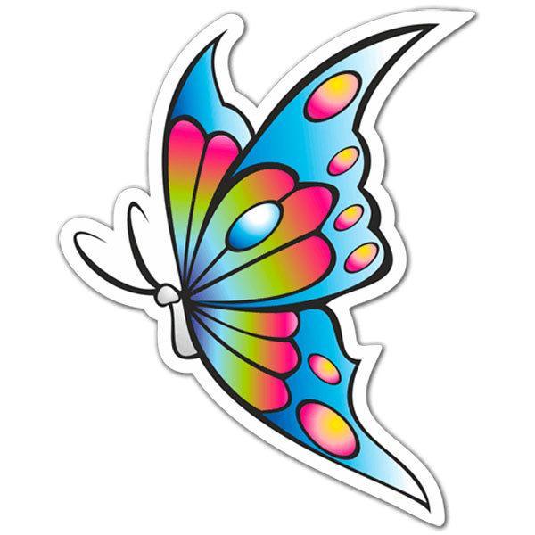 Aufkleber: Butterfly 2
