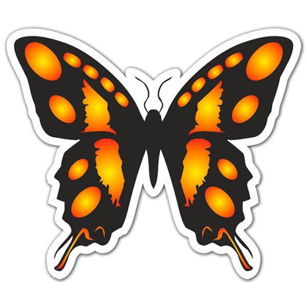 Aufkleber: Butterfly 3