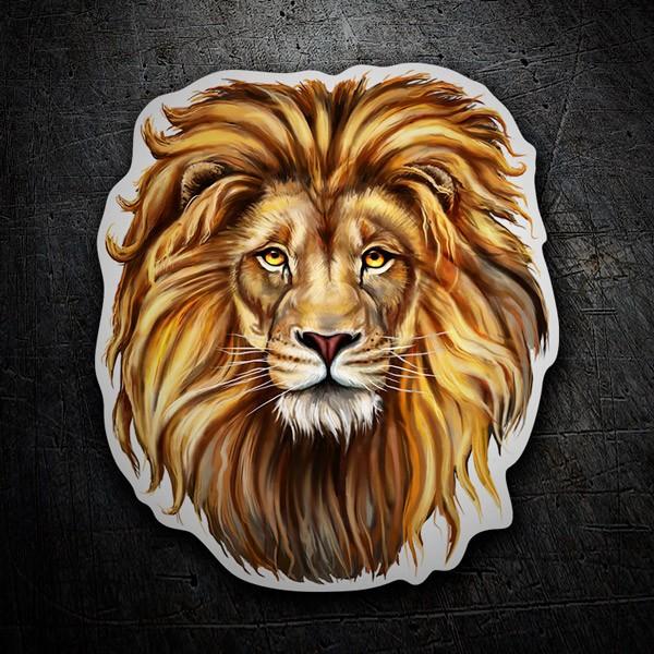 Aufkleber: Lion 1