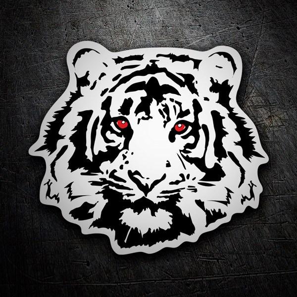 Aufkleber: Tiger 2