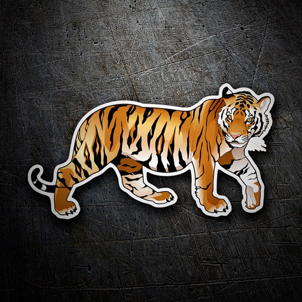Aufkleber: Tiger 3