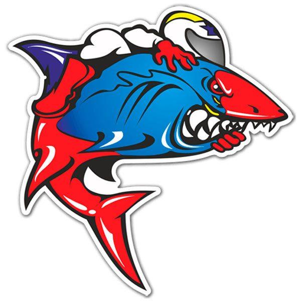 Aufkleber: Shark 1