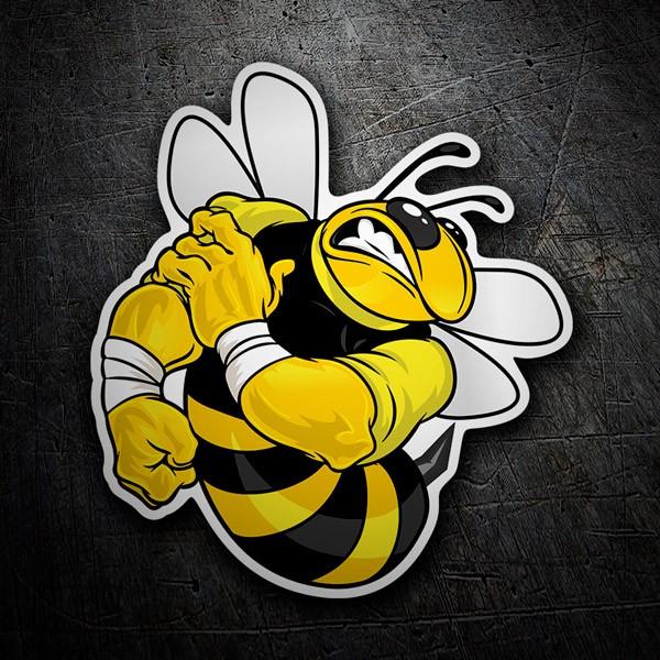 Aufkleber: Bee