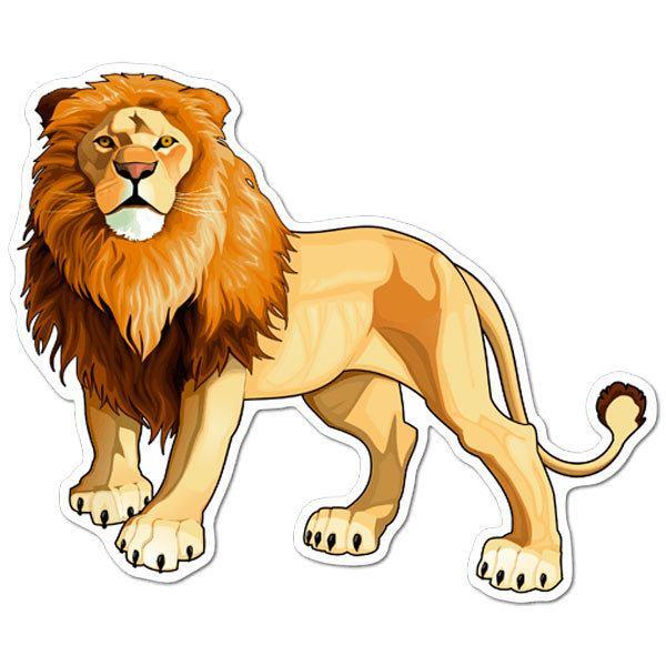 Aufkleber: König der Löwen