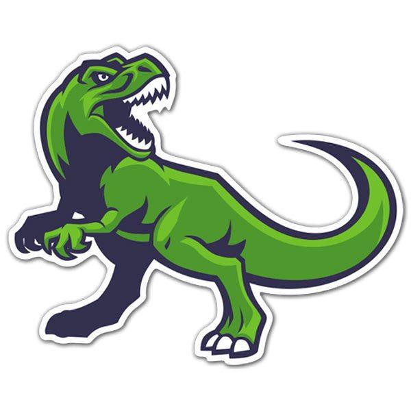 Aufkleber: Dinosaurier Rex