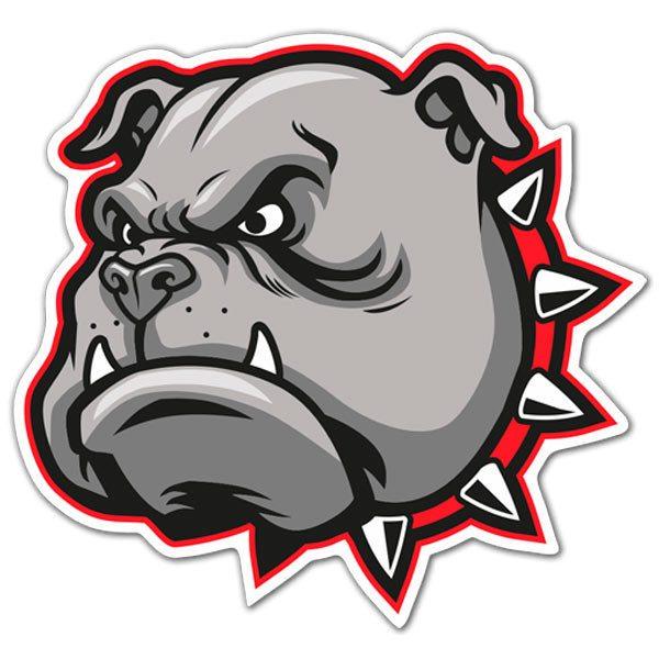 Aufkleber: Bull dog