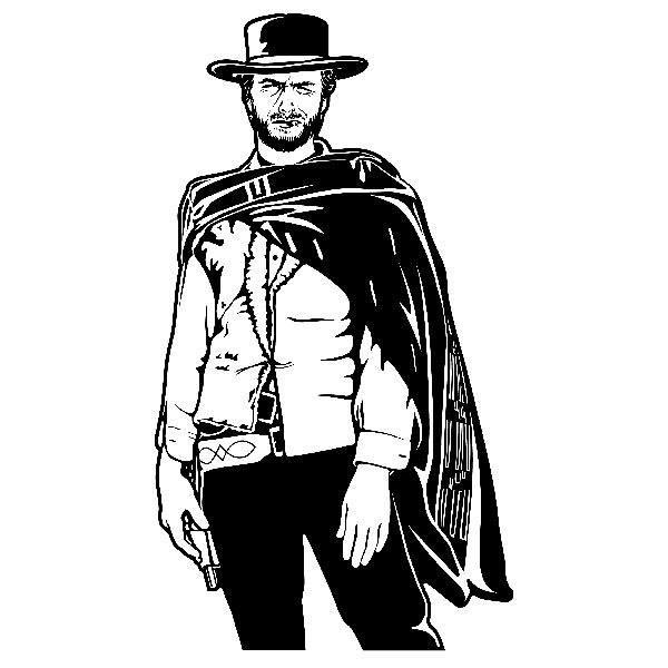 Wandtattoos: Clint
