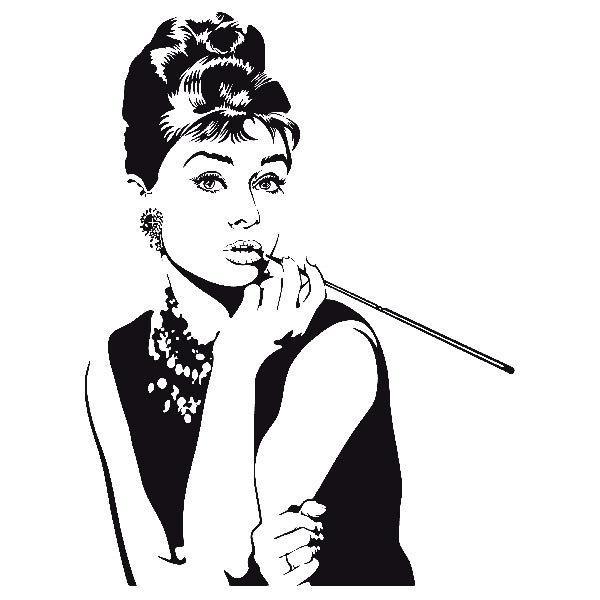 Wandtattoos: Audrey 3