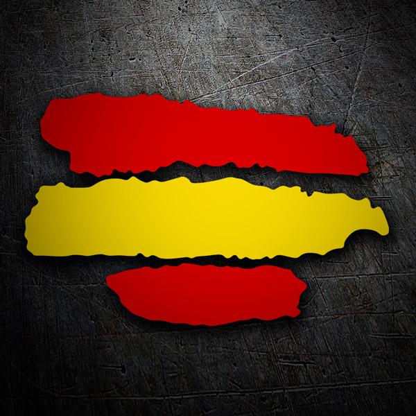 Aufkleber: Spain