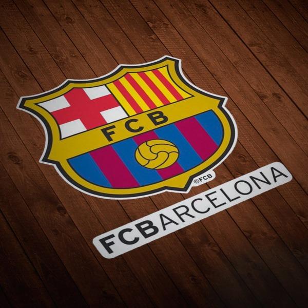 Aufkleber: Futbol Club Barcelona