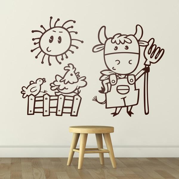 Kinderzimmer Wandtattoo: Granjero