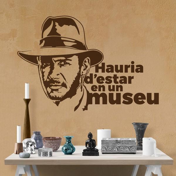Wandtattoos: Hauria d estar en un museu