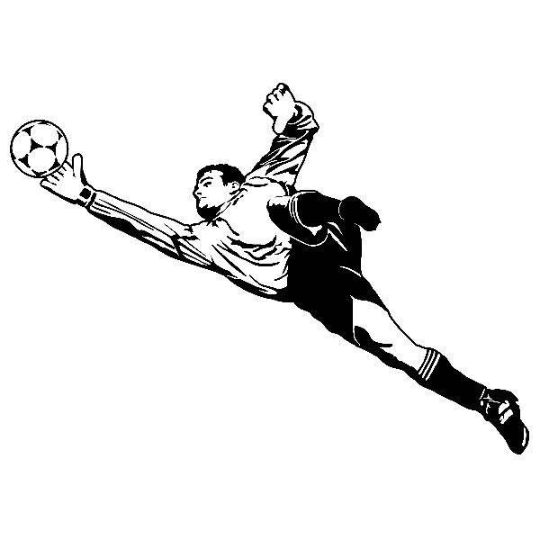 Wandtattoos: Fußball-Torhüter