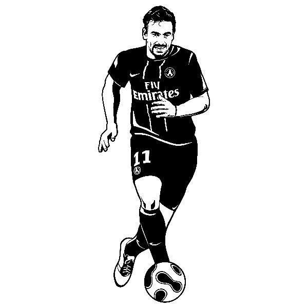 Wandtattoos: Fußballer 1