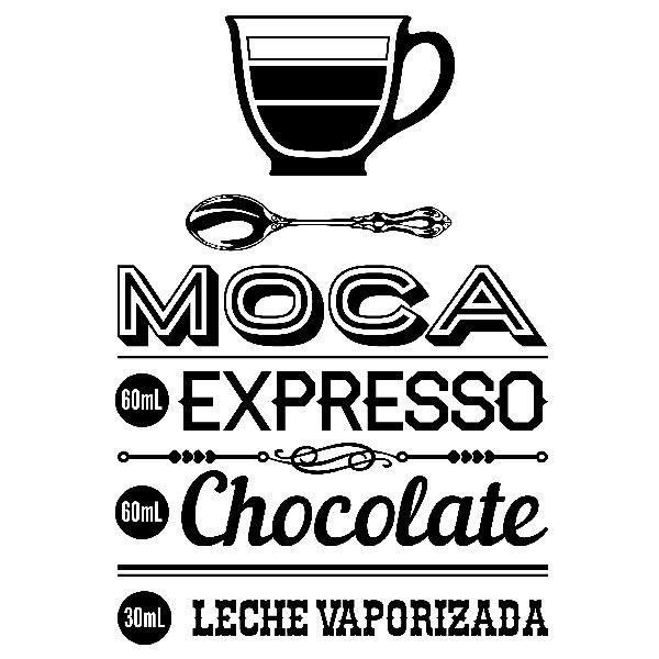 Wandtattoos: Café Moca