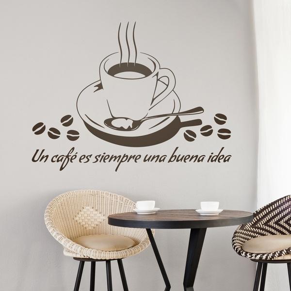 Wandtattoos: Un café es siempre una buena idea