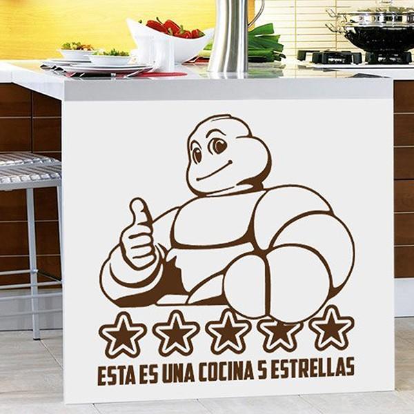 Wandtattoos: Dies ist ein 5 Sterne Küche