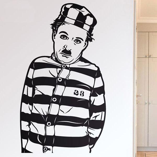 Wandtattoos: Chaplin Der Pilger
