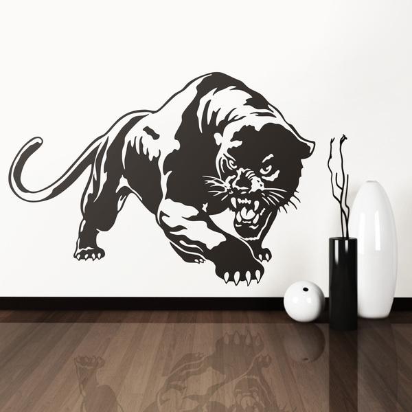 Wandtattoos: panther