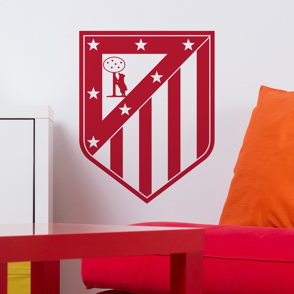 Wandtattoos: Atletico Madrid wappen