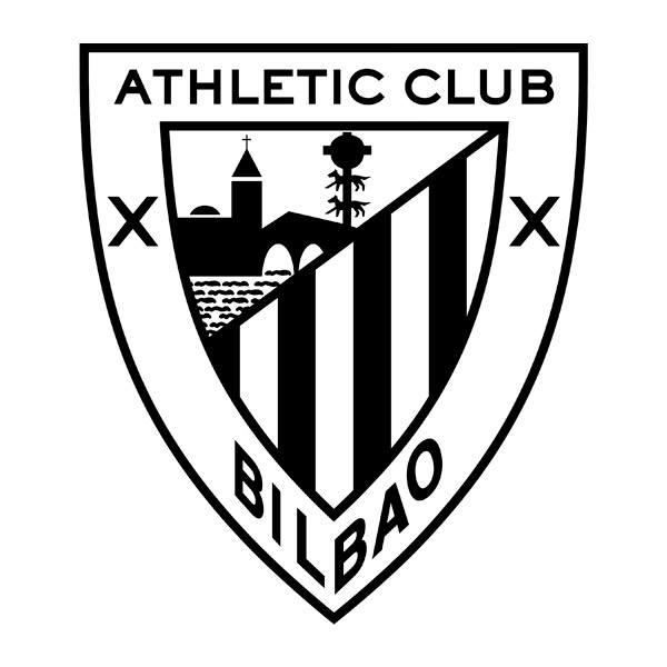 Wandtattoos: Athletic Club de Bilbao wappen