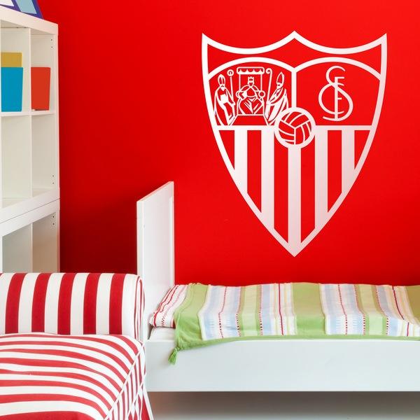 Wandtattoos: Sevilla Fútbol Club wappen