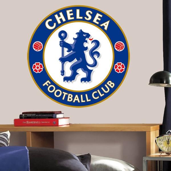 Wandtattoos: Chelsea FC wappen Farbe