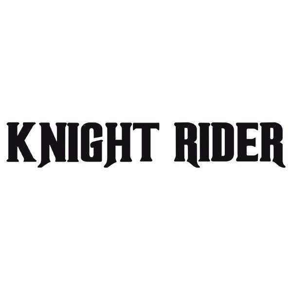 Wandtattoos: Knight Rider
