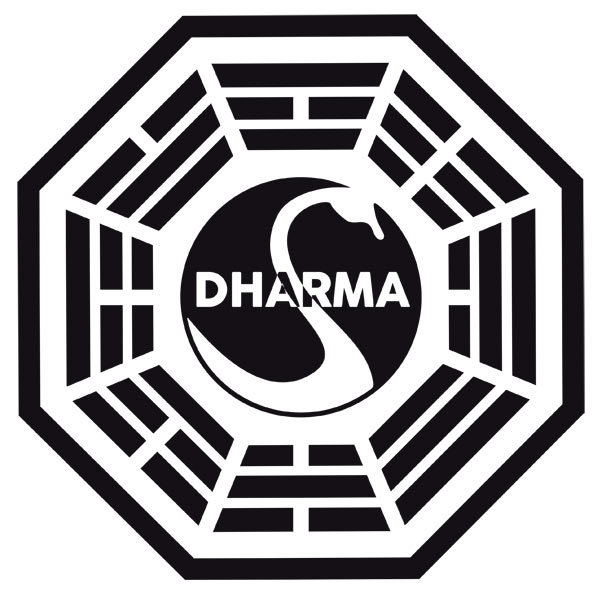 Wandtattoos: Dharma Initiative