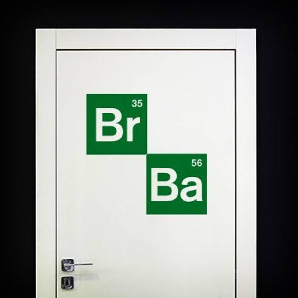 Wandtattoos: Logo Breaking Bad 2