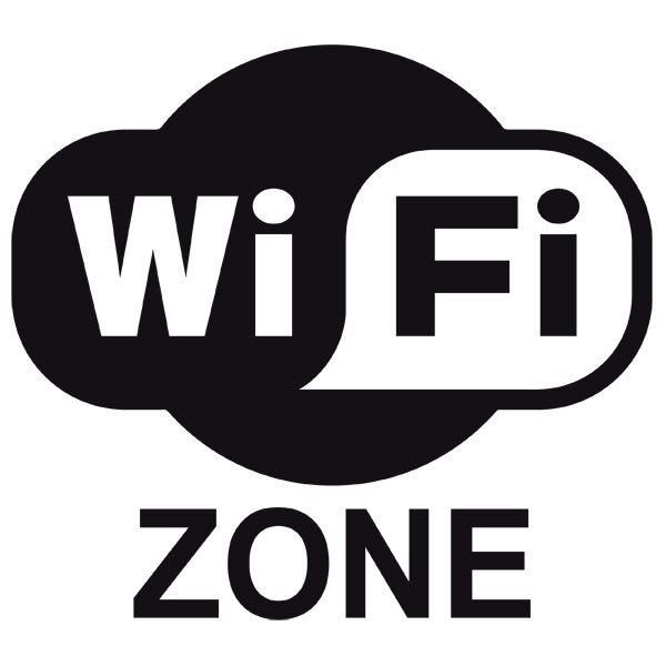 Wandtattoos: Wifi zone