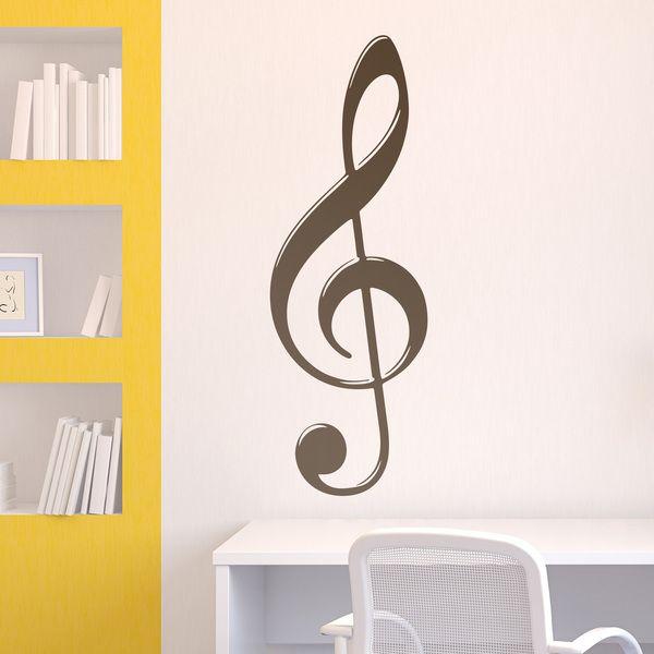Wandtattoos: Im Violinschlüssel