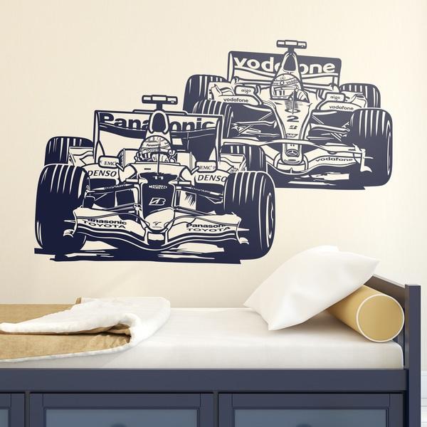 Wandtattoos: Formel-1-Grand-Prix
