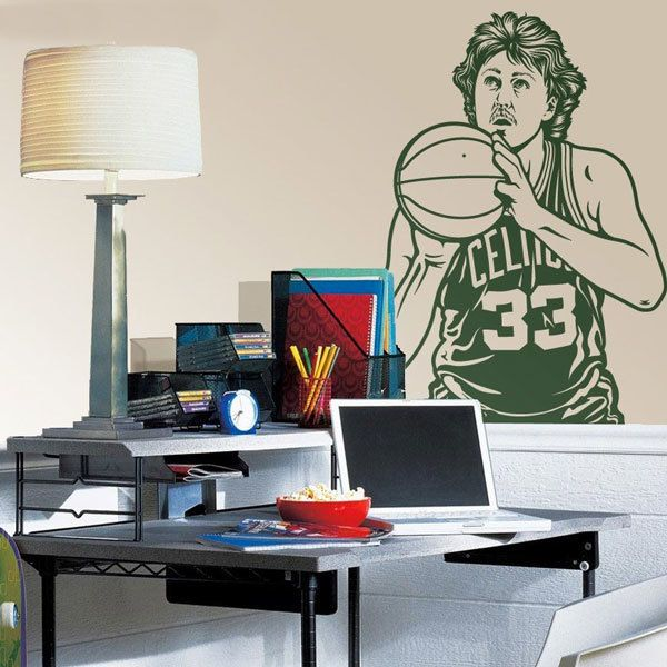 Wandtattoos: Larry Bird 1