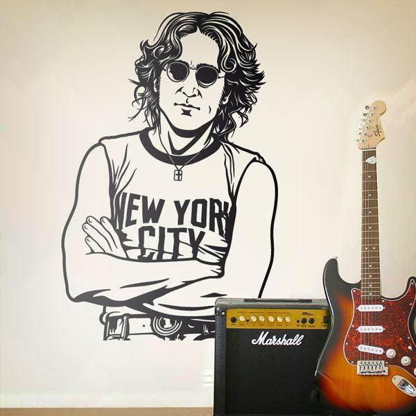 Wandtattoos: John Lennon