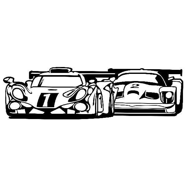 Wandtattoos: 24-Stunden-Rennen von Le Mans