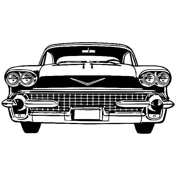Wandtattoos: Cadillac