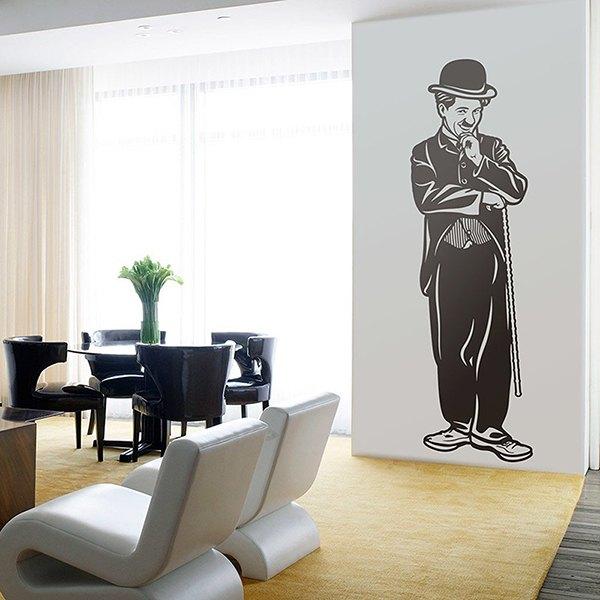 Wandtattoos: Charles Chaplin