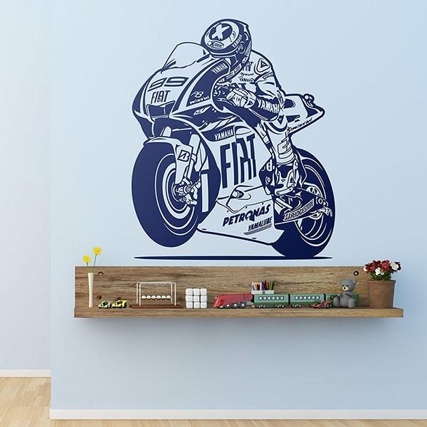 Wandtattoos: MotoGP 99