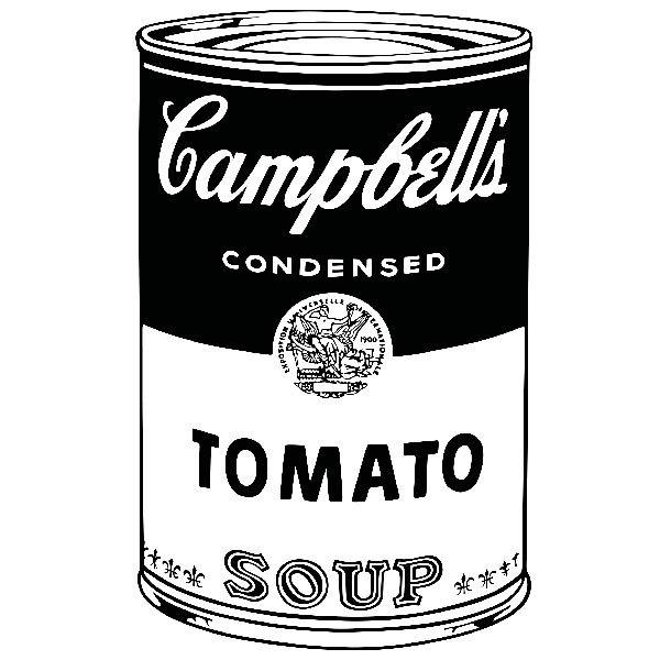 Wandtattoos: Campbell Soup