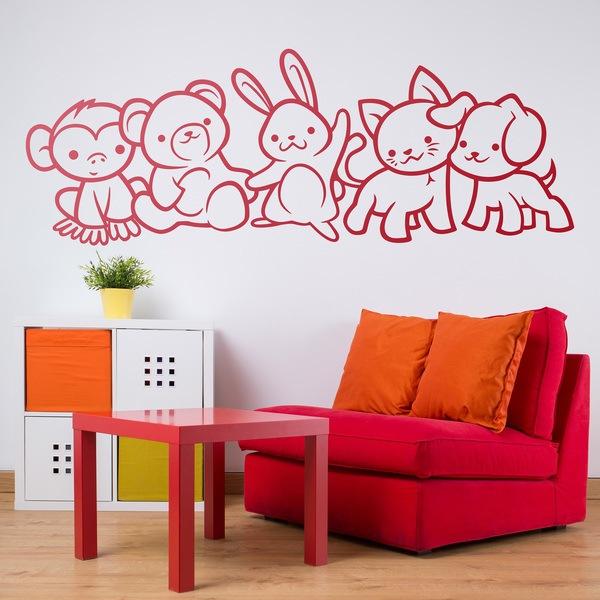 Kinderzimmer Wandtattoo: Tieren