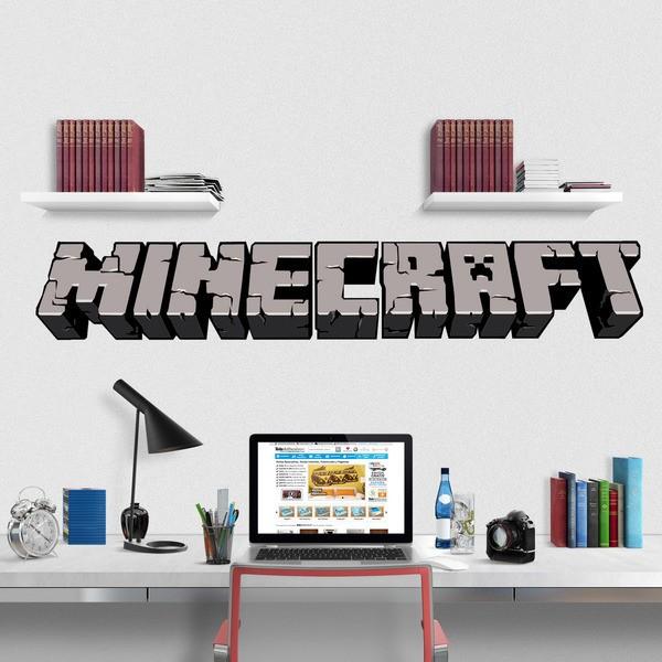 Wandtattoos: Minecraft