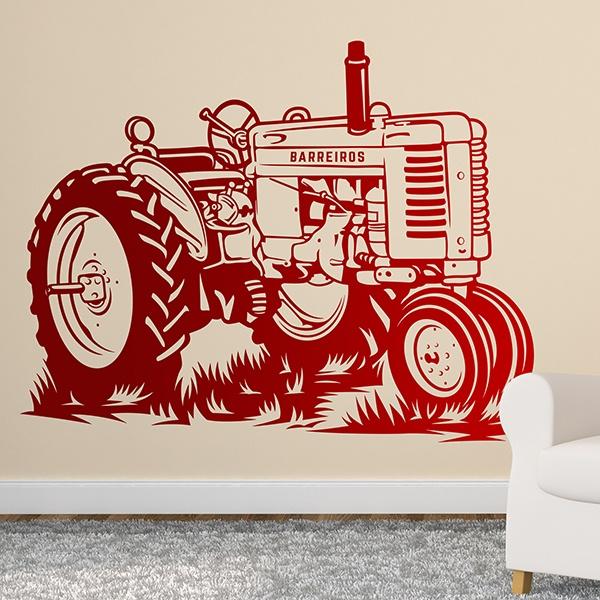 Wandtattoos: John Deere Traktor
