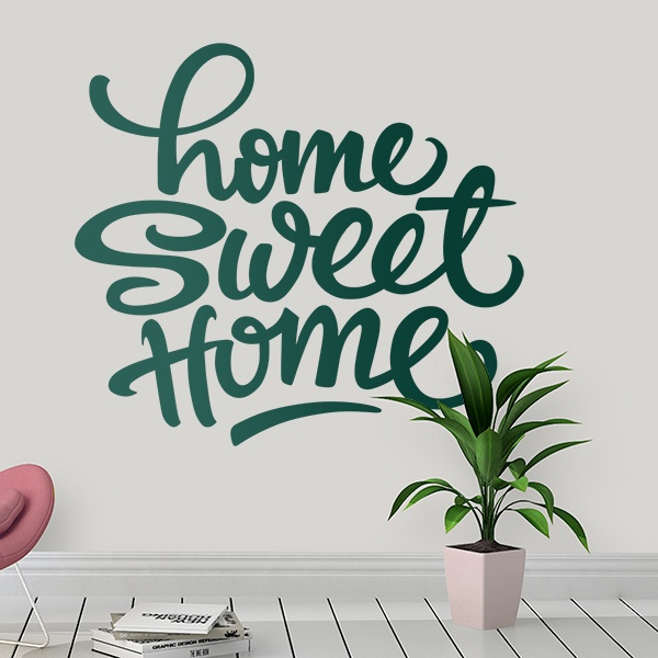 Wandtattoos: Home Sweet Home