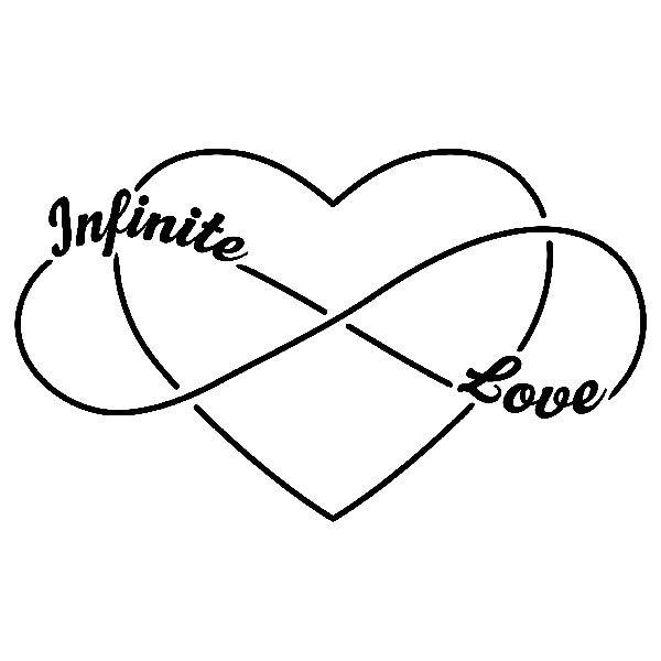 Wandtattoos: Infinite Love